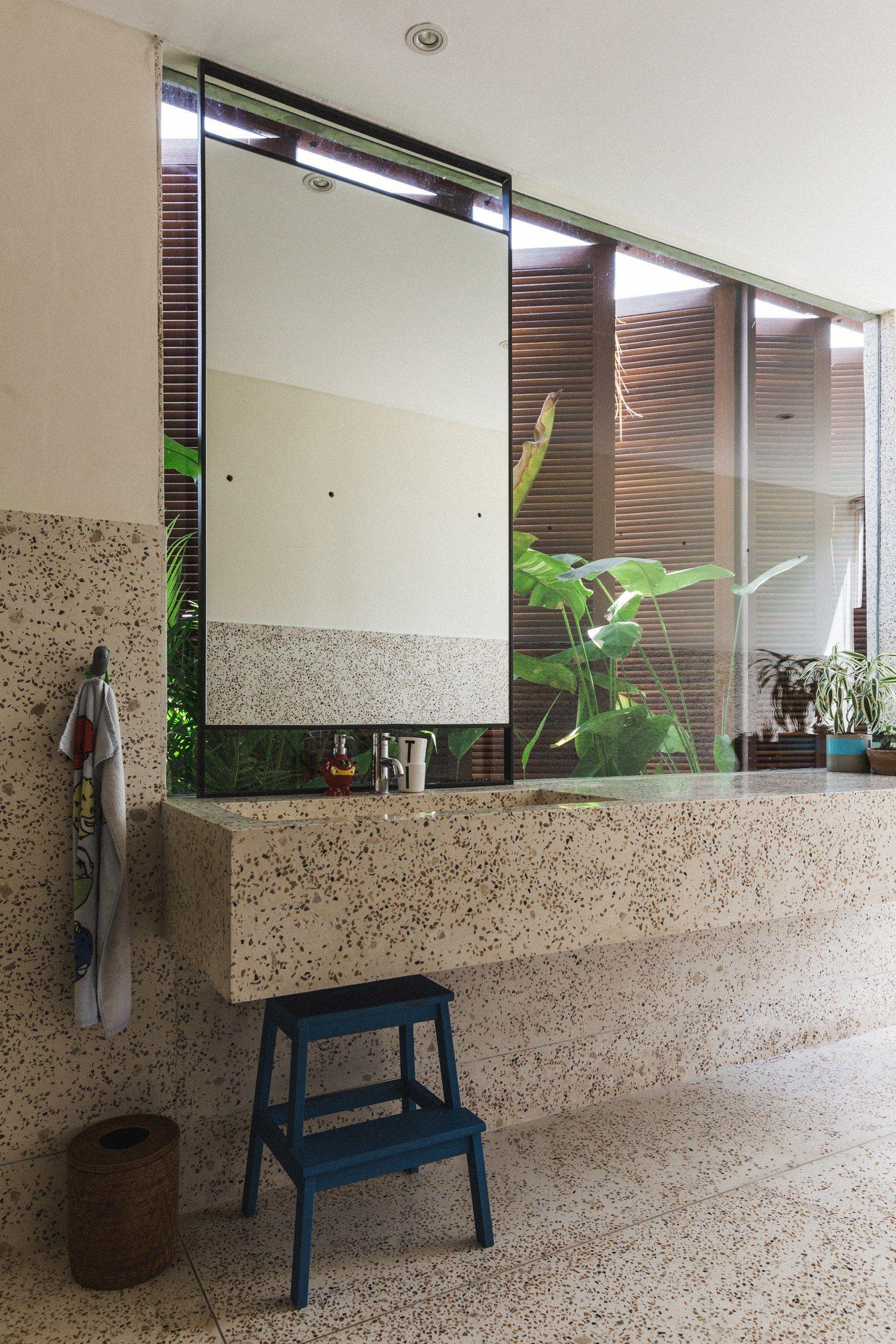 A Brutalist Home Set Amongst The Tropical Landscape Of Bali