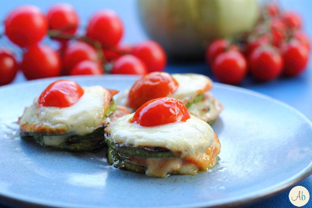 Torrette di Zucchine Con Prosciutto e Provola | Aryblue