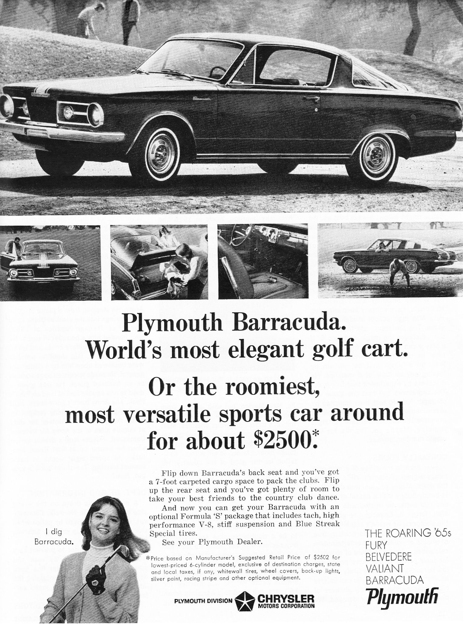 1966 plymouth barracuda advertising car and driver magazine january 1966 plymouth barracuda plymouth and magazines