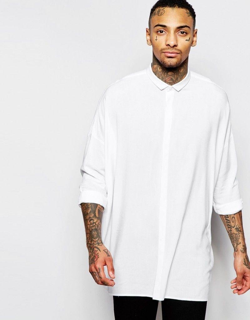 3effdd76857 River Island Mens Dark green oversized short sleeve T-shirt | Style ...