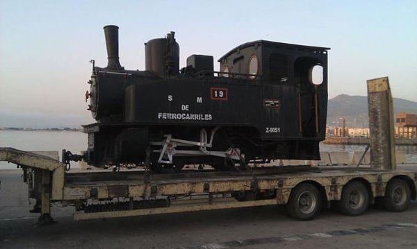 locomotora de vapor pertenece al modelo Henschel & Cassel 020T de ...