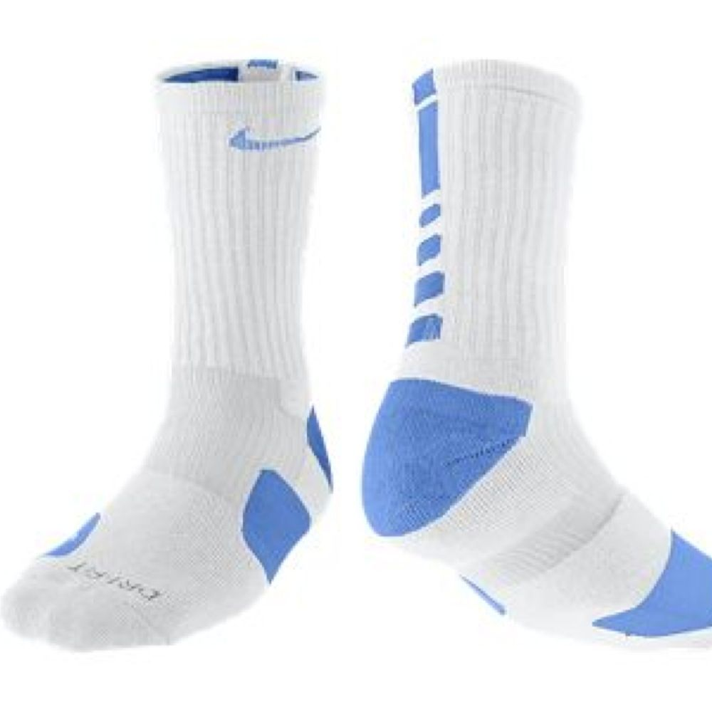 Nike Elite Socks White And Light Blue Nike Elite Socks Elite Socks Nike Elite