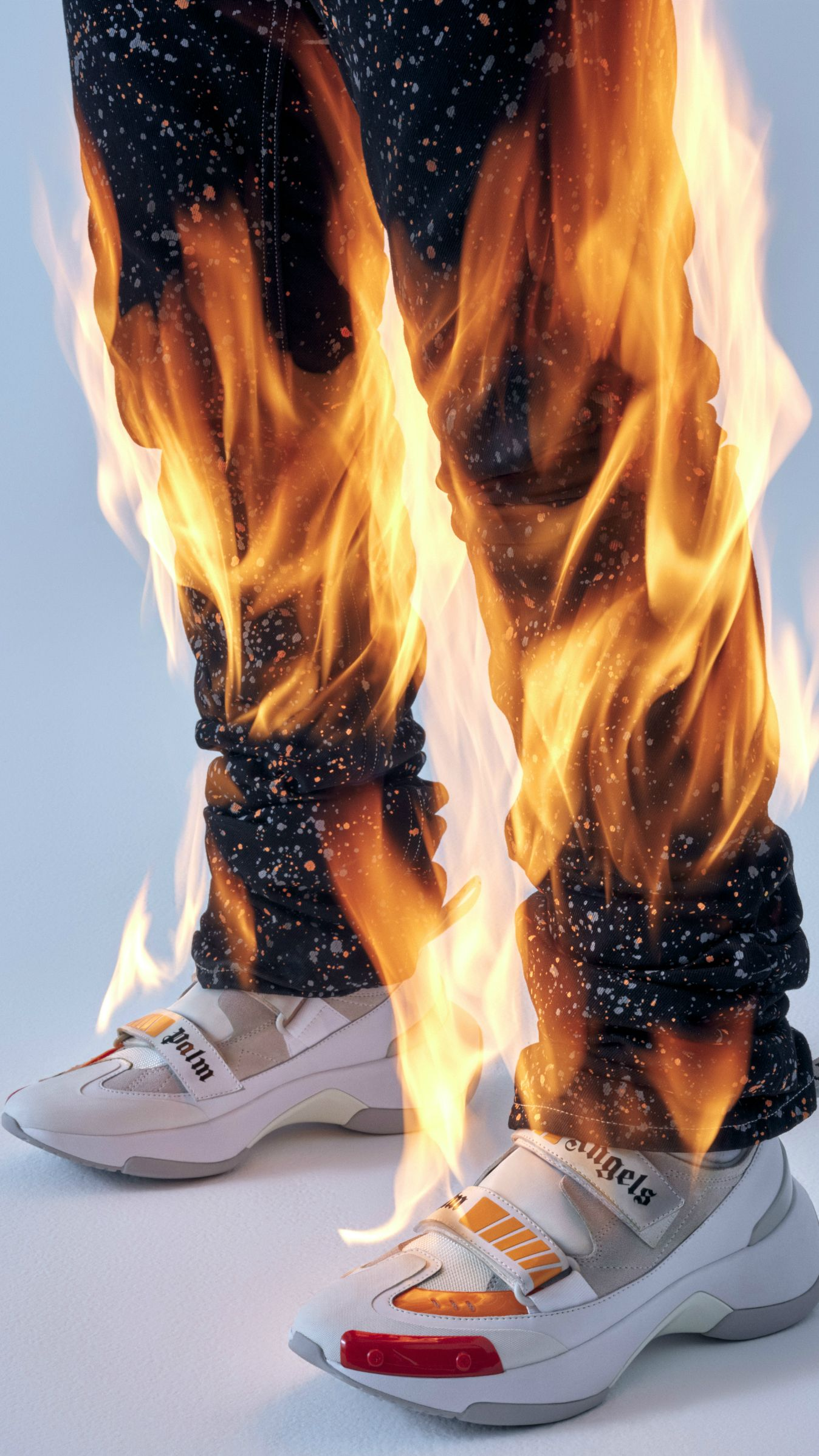 This shoe is on fire! Mit dem Sneaker Recovery von PALM
