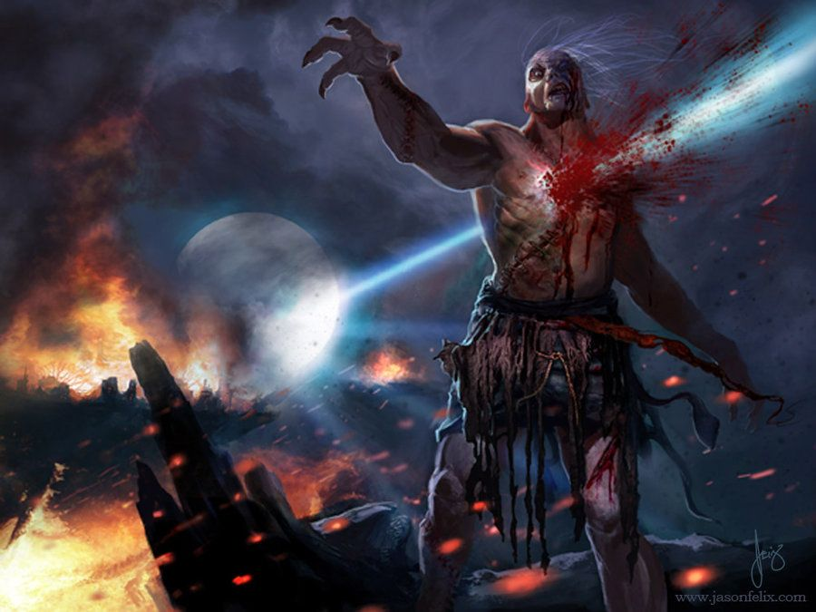 Smite the Monster- Magic The Gathering by *jason-felix on ...