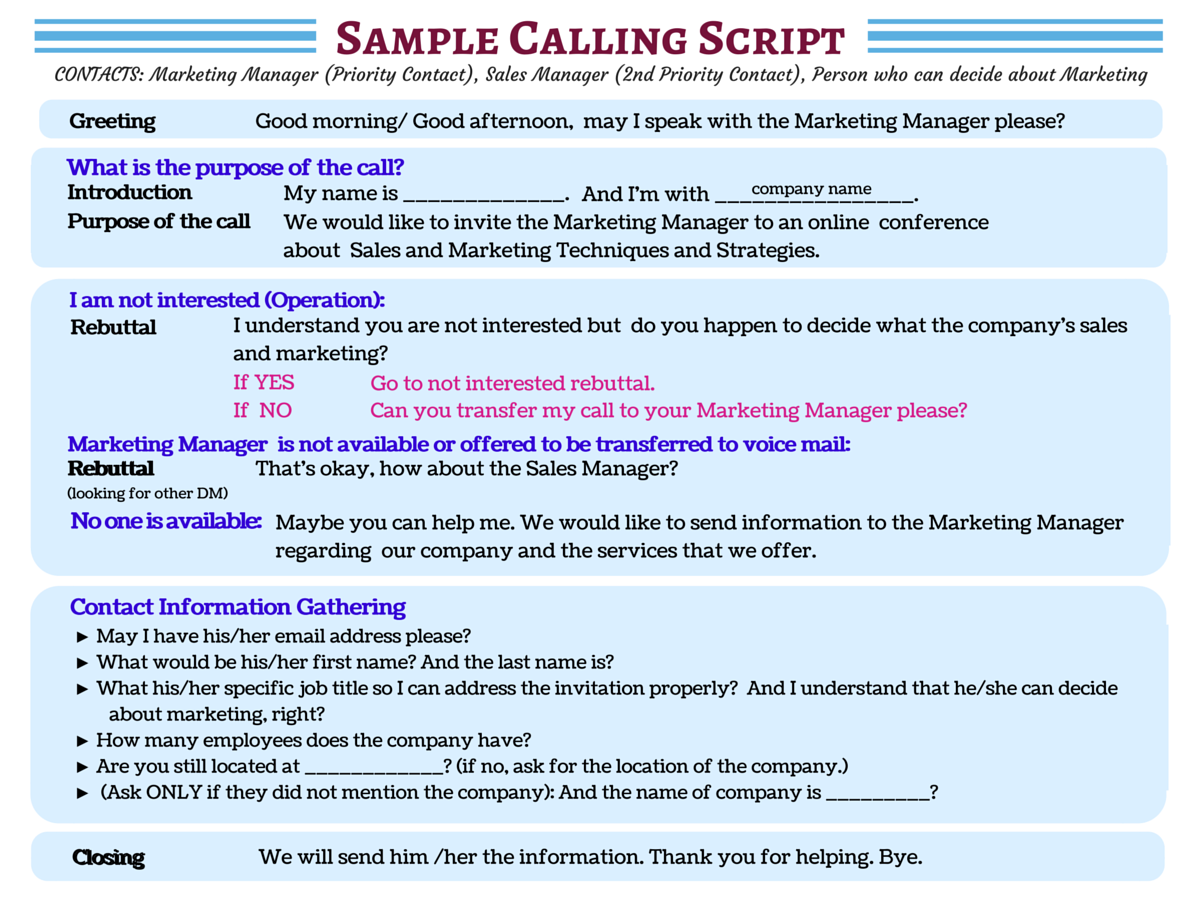 Image Result For Customer Service Phone Script Examples