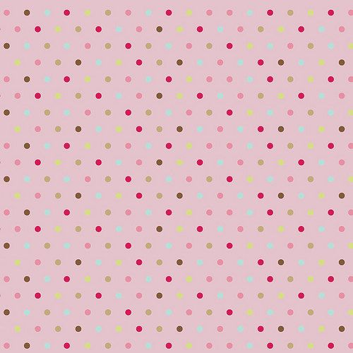 Be Merry Pink Dot by Riley Blake