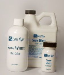 Ben Nye Snow White Hair Color 2 Fl Oz Professional Makeup Supplies For Stage Theatre Pnta