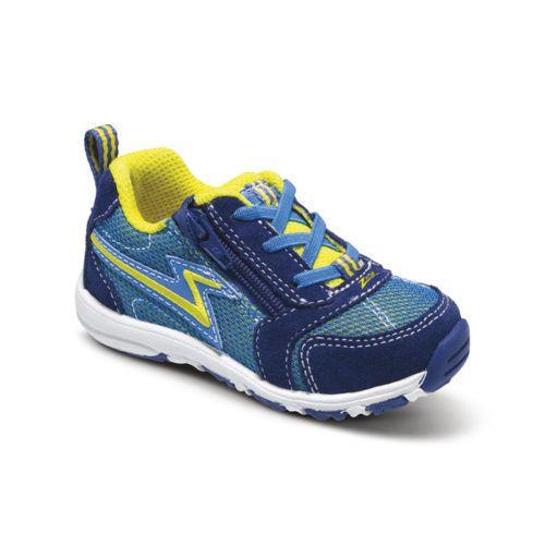 Stride Rite Zips Royal Blue Boys Sneakers Shoes Zip Toddler NEW Box ... a6da4ae9b17