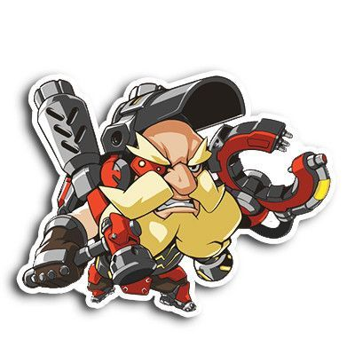 Overwatch torbjorn sticker overwatch characters and game character