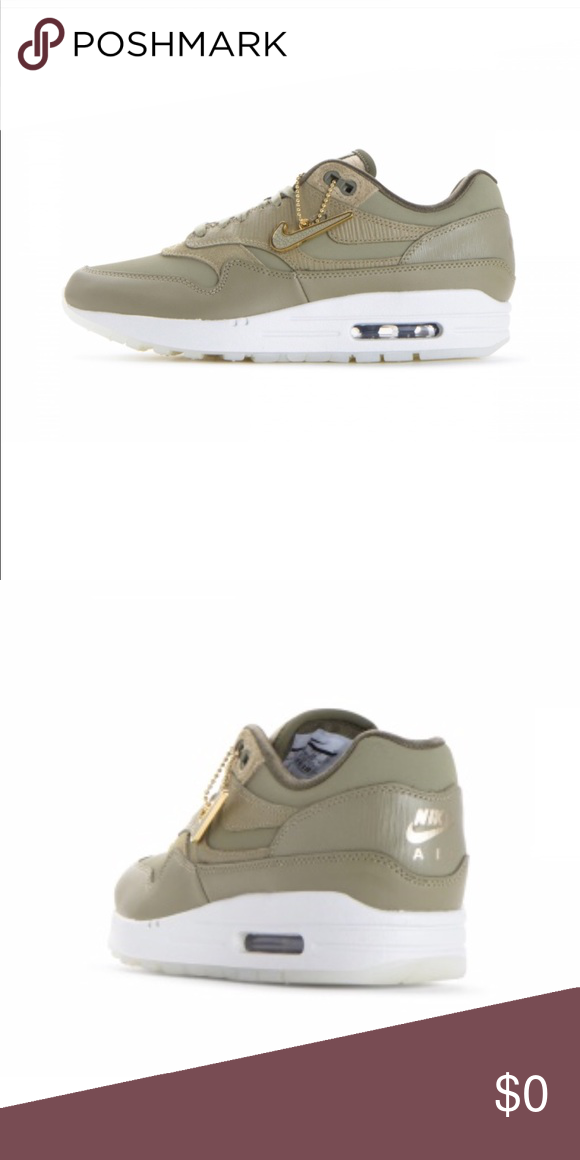33567d87e71315 Women s Air Max 1 PRM Neutral Olive. New with box. Nike Shoes Sneakers