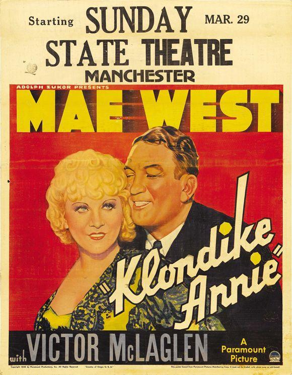 I/'m no angel Mae West  cult movie poster print