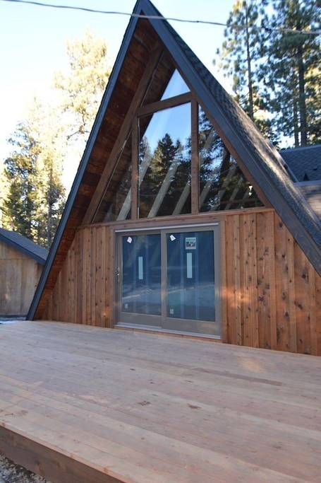 Entire Home Flat In Tahoe City United States Create Wonderful Tahoe Memories At This Dazzling Contemporary Updat A Frame House A Frame Cabin Tiny House Cabin