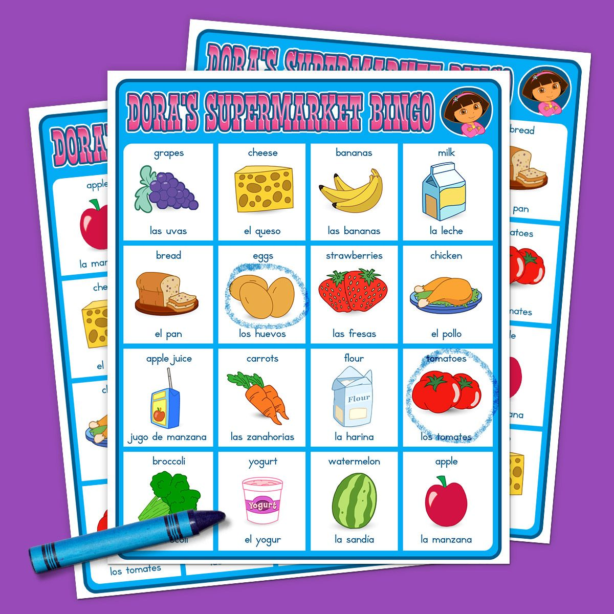 Top 10 Dora The Explorer Printables Of All Time Explorers Activities Supermarket Games Supermarket [ 1200 x 1200 Pixel ]