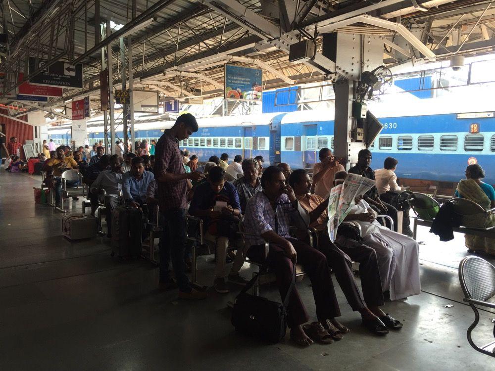 トリヴァンドラム駅(南インド・ケララ州12)