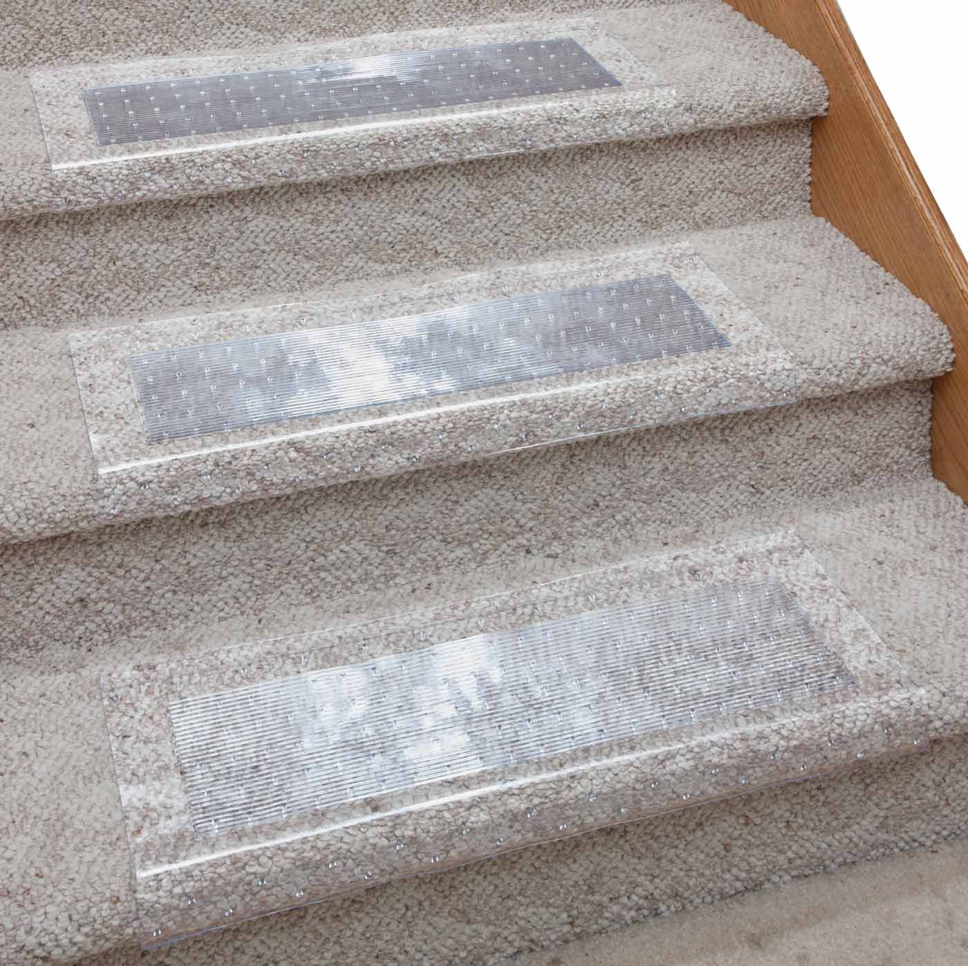 Clear Vinyl Stair Carpet Protectors In 2020 Carpet Stairs Stair Carpet Protector Stairs Vinyl
