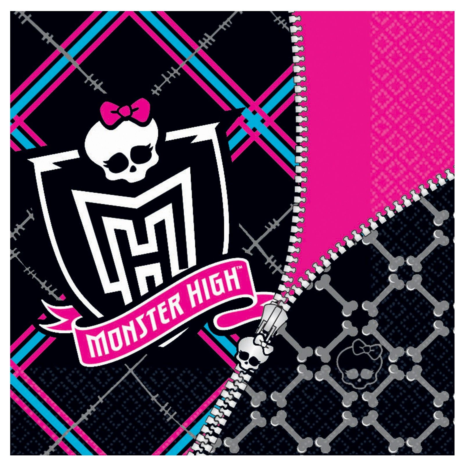 Monster High Lunch Napkins   Monster high, Napkins and Monsters