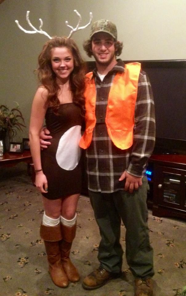 Deer and Hunter Halloween Costume! 2013 | Halloween | Pinterest ...