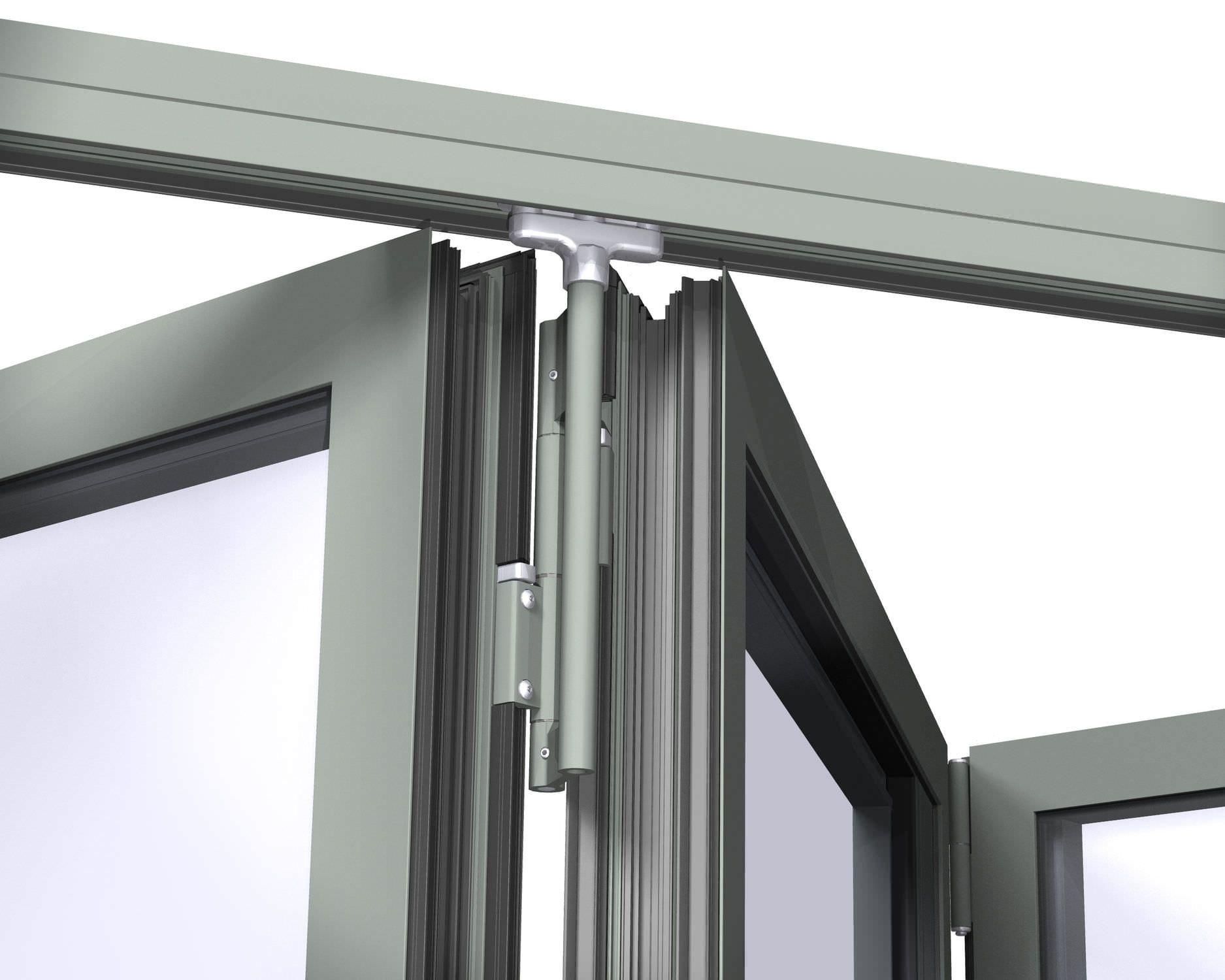 Système Coulissant Pour Porte En Verre CF Reynaers Aluminium - Système coulissant pour porte