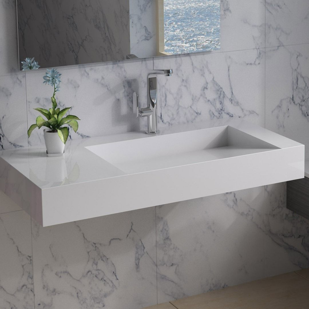 Gorgeous Wall Mounted Sink In 2020 Wall Mounted Sink Sink Sink Countertop