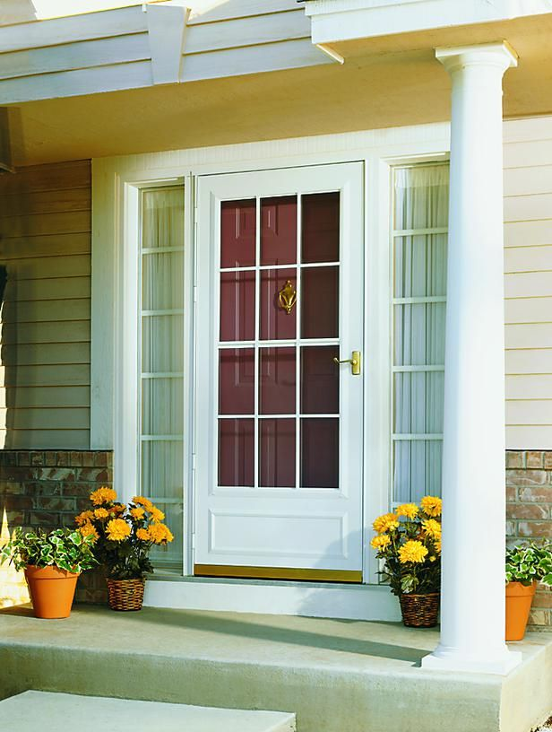 Doors Screen Doors For French Doors With A Few Flowers There Is Also