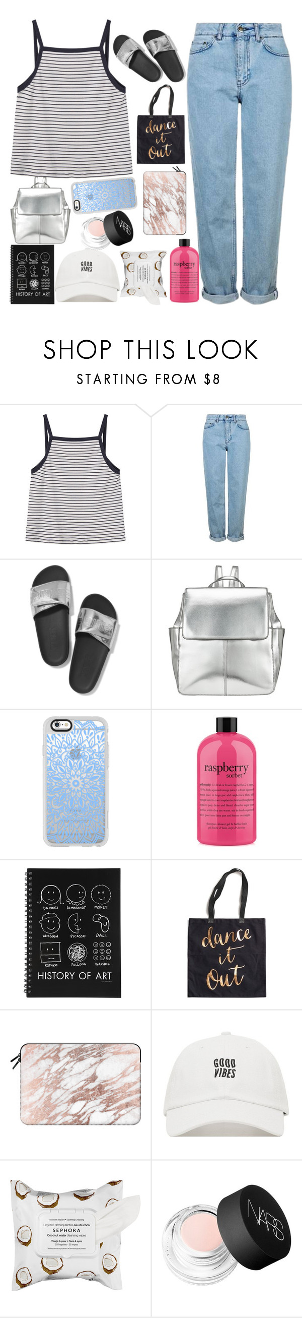 """""""australia"""" by h0ld-0n-let-g0 ❤ liked on Polyvore featuring MANGO, Topshop, Victoria's Secret, Kin by John Lewis, Casetify, philosophy, Rosanna, Sephora Collection, NARS Cosmetics and MiaBenedicte"""
