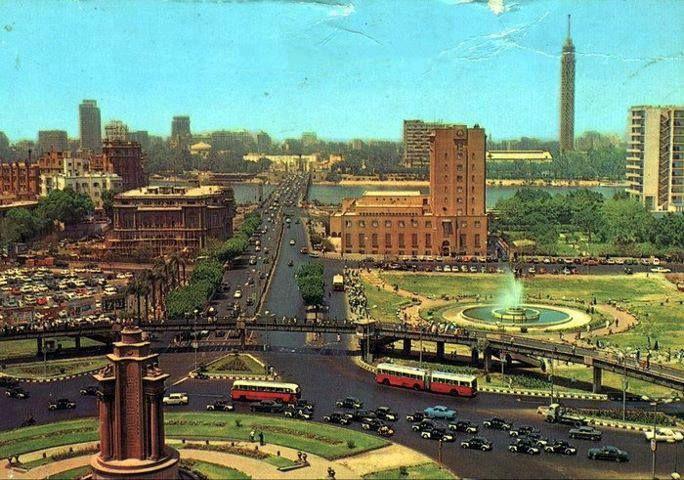 Tahrir Square In 1960s Egypt Cairo Egypt Old Egypt
