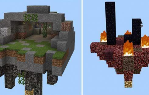 Mega Skyblock is a little bit different from the ordinary