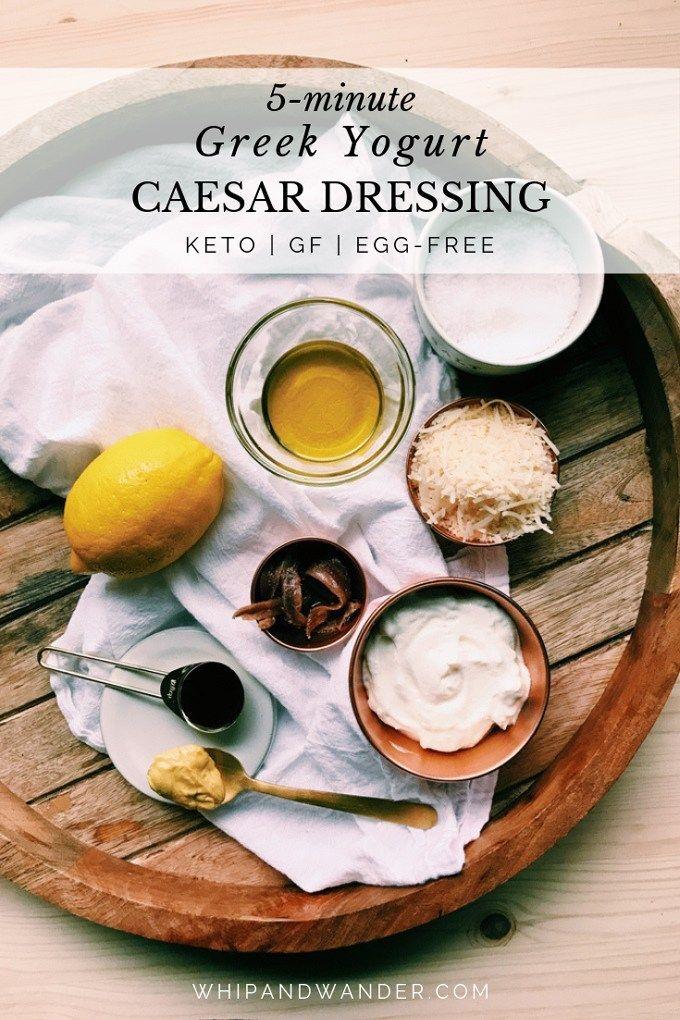 Greek Yogurt Caesar Dressing images