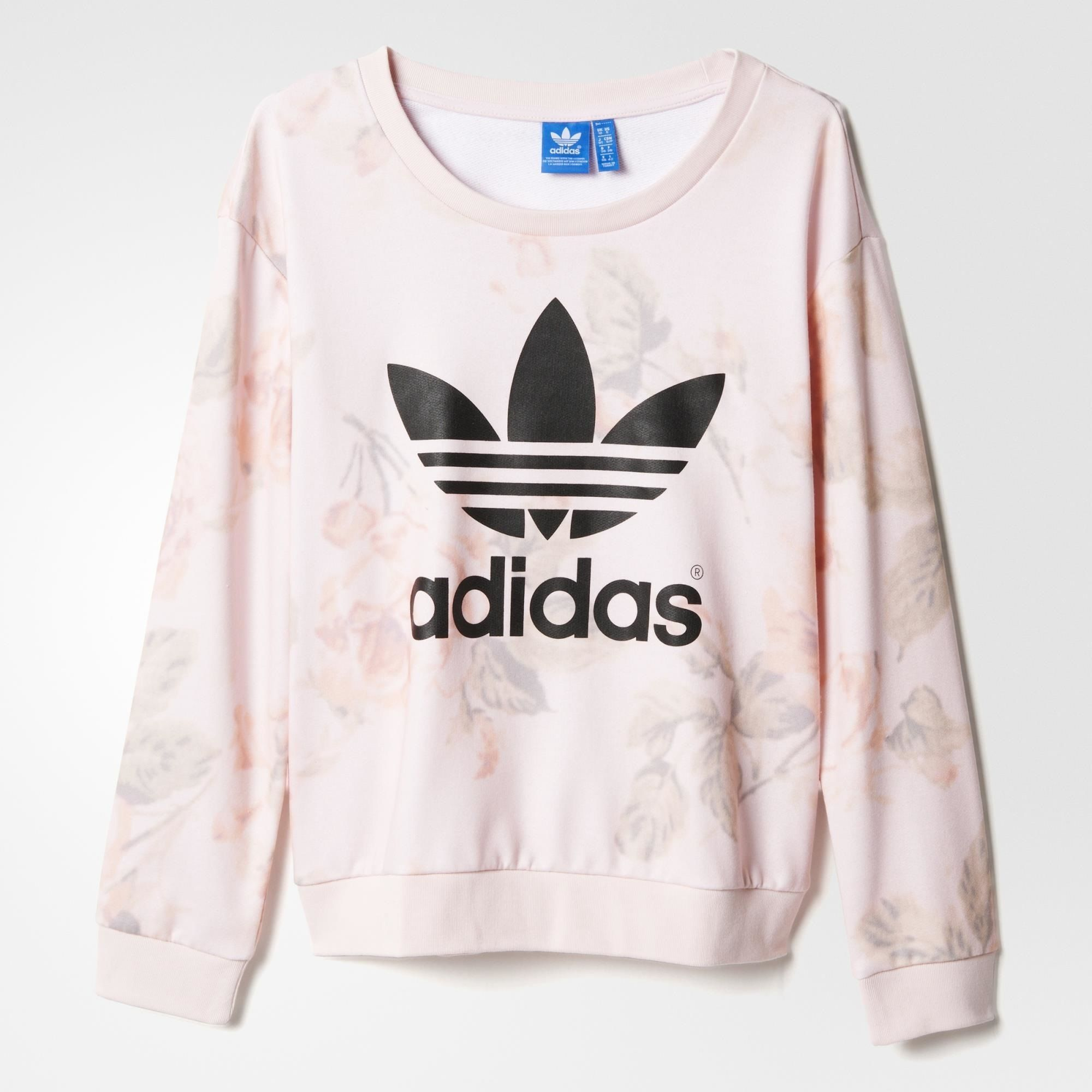 adidas pastel rose sweatshirt multicolor adidas us
