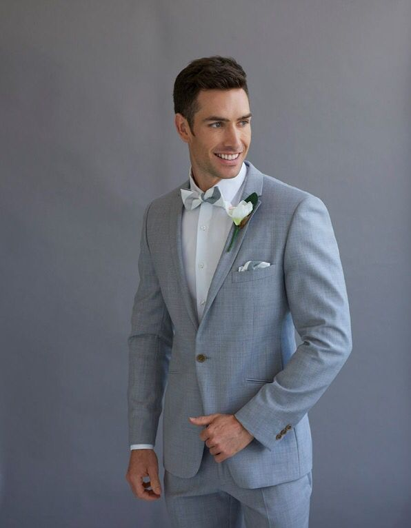 Pale grey fitted suit. Wedding suit. Made to measure. Sydney suit ...