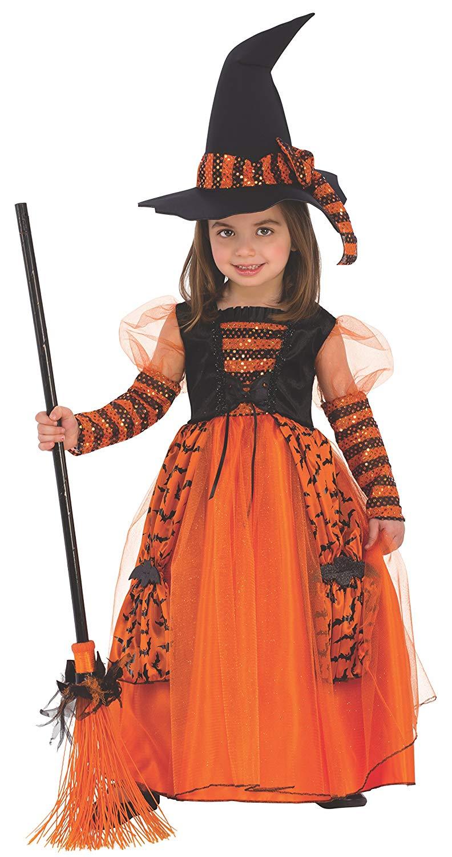 Disfraz de Bruja Brillante para Niña Infantil Varias