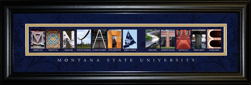 Image for spots around campus montana state sign montana