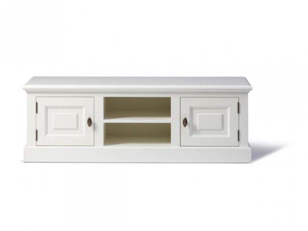 Lowboard Weiß, Fernseheschrank Weiß Im Landhausstil   TV Schränke,  Lowboards   Landhaus Style