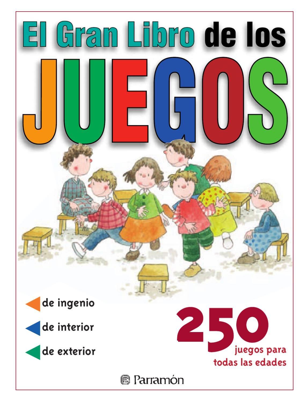 Juegos El Gran Libro De Los Juegos Libros De Actividades Libros Grandes Educacion