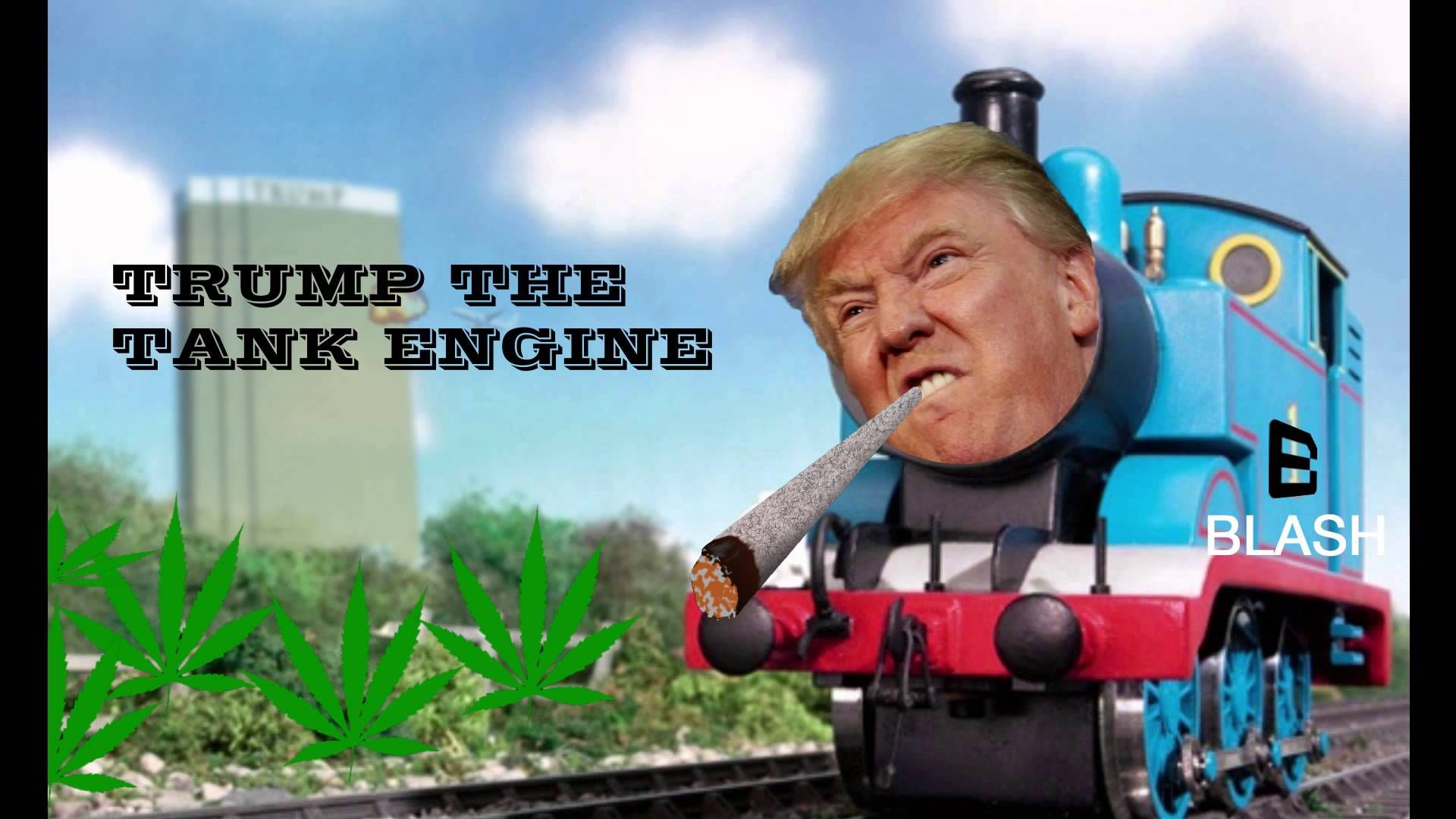 Thomas The Tank Engine Ft Donald Trump (Remix)