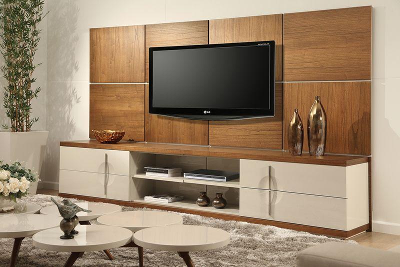 Modelos de painel para tv confira modelos fant sticos for Modelos de muebles para televisor