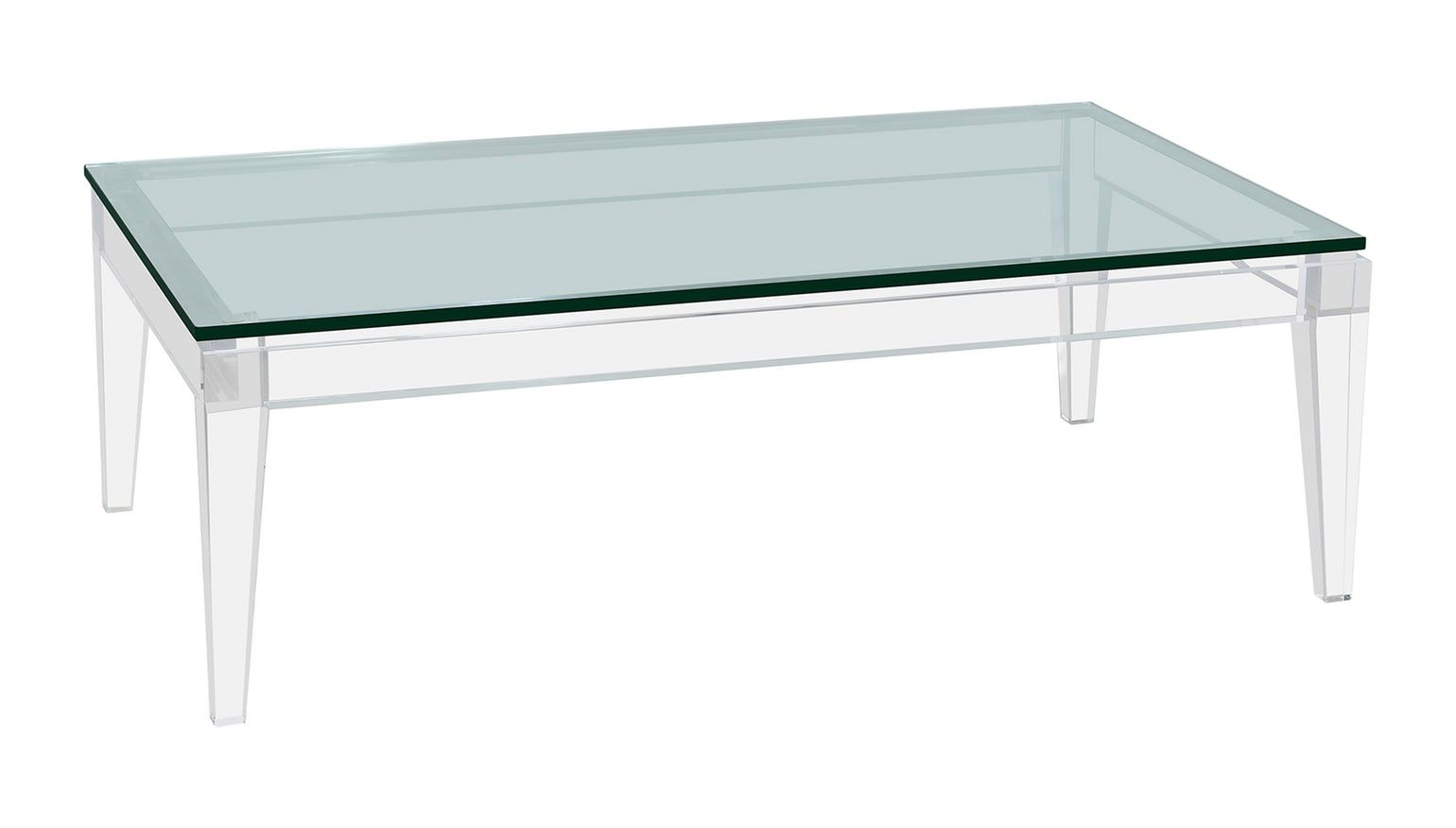 Arabella Cocktail Table Contemporary Transitional Midcentury Modern Art Deco Glass Acrylic Coffee Cocktail Table B Table Cocktail Tables Lucite Furniture [ 876 x 1540 Pixel ]