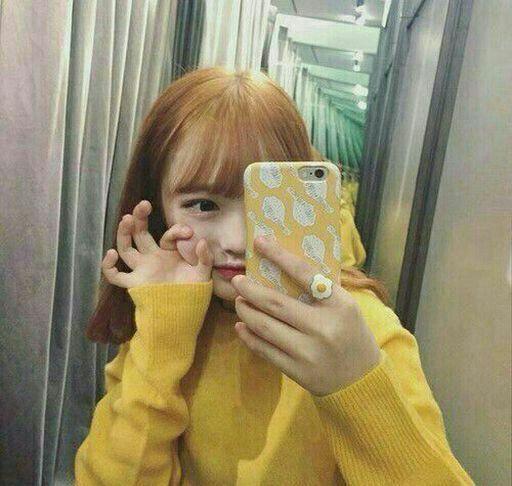 Ulzzang Girl Yellow (Aesthetic)