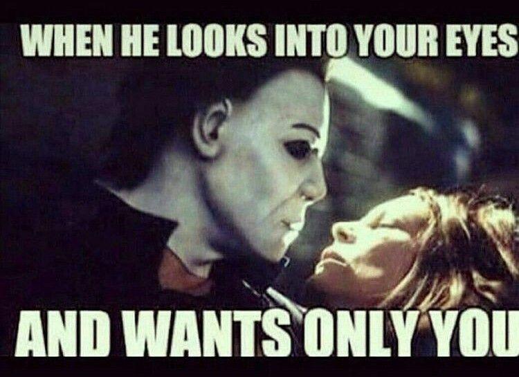 Halloween Memes 2020 Jamie Lee Curtis Jamie Lee Curtis & Michael Myers .. Michael Myers Halloween