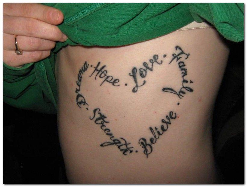 girl tattoo designs dragon: I Love You Tattoos Designs