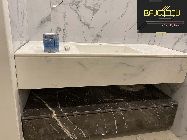 مغسلة حمامات رخام ايطالي Marble Bathtub Bathroom