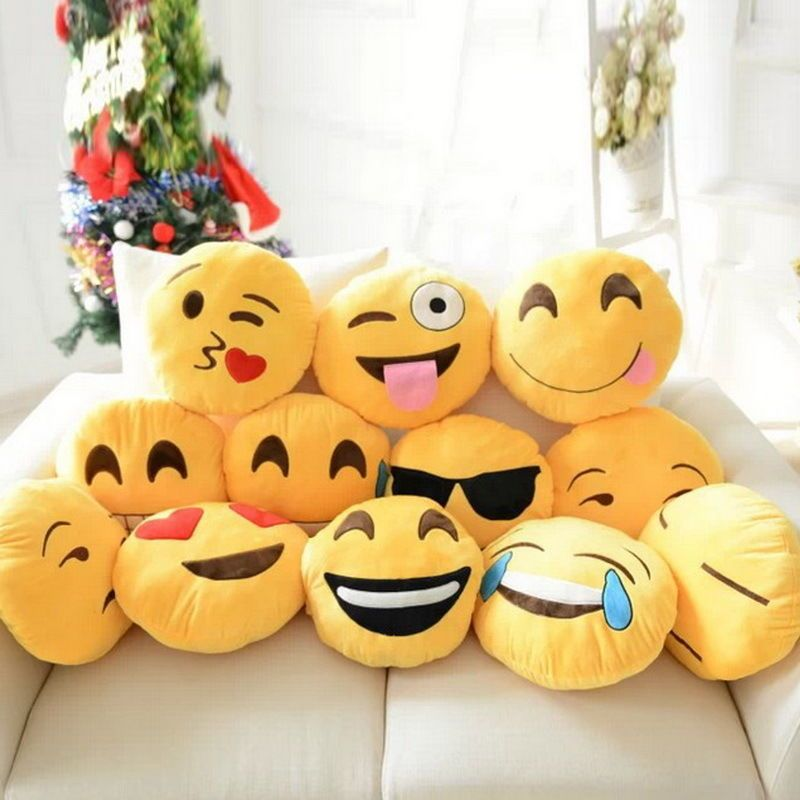 Cuscini Emoticon.Cuscini Emoticon Cuscini Emoticon E Peluche