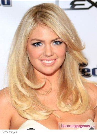 Blowout Hairstyle great color Kate Upton Blowout Hairstyle