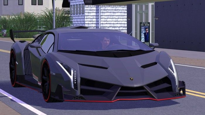 2014 lamborghini veneno for free by craftsle sims 3 downloads cc caboodle sims cars. Black Bedroom Furniture Sets. Home Design Ideas