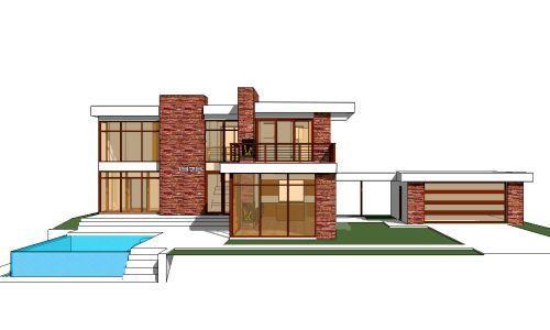 Houseplans Com 64 167 Contemporary House Plans Modern Style House Plans Modern House Plans