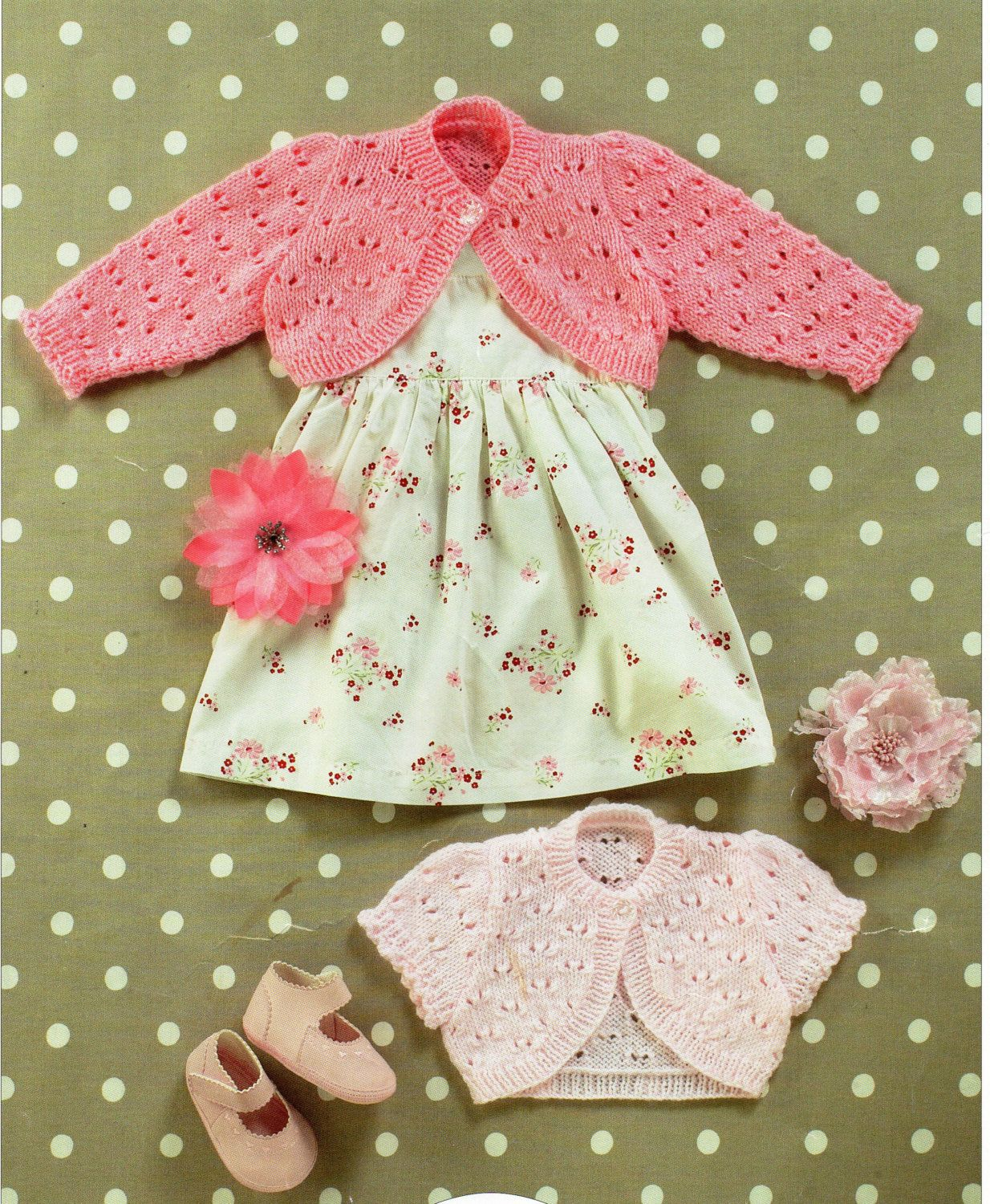 baby boleros knitting pattern childs bolero girls bolero short ...
