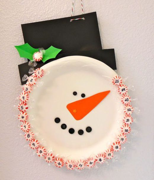 10 Paper Plate Christmas Crafts for Kids - Christmas decoration