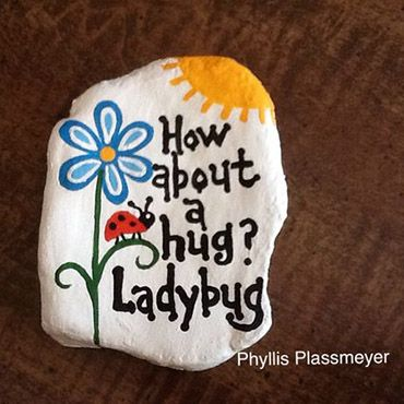 Photo of Go Paint A Rock! • A Crafty Composition