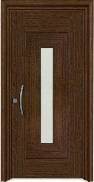 004 lens puertas de aluminio puertas en 2019 puertas for Modelos de puertas de madera modernas