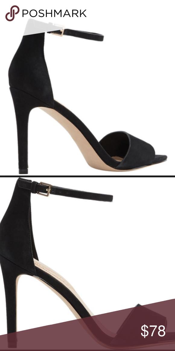 ALDO Sandal Melawet Black Leather